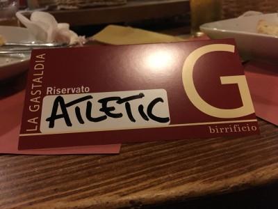 Serata al Galivm Gastaldia! Atletic è anche festa