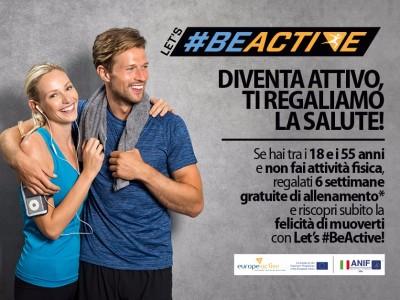 Let's #BeActive
